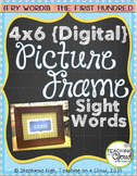 FRY FIRST HUNDRED Digital Picture Frame Sight Words 4X6