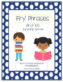 FRY Phrases Book & Center--first 100