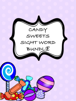 FRY SIGHT WORD CANDY SWEETS BUNDLE