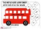 FREE! Kindergarten SIGHT WORD 1-25 practice Put the words on the bus