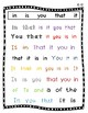 "FRY Sight Word Intervention 1st 100 ""Seek and Find"" (Words 1-100)"