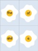 FRY Sight Words {Sunny Side Up}