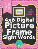 FRY THIRD HUNDRED Digital Picture Frame Sight Words 4X6