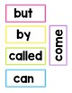 Fry Words, High Frequency Words, Sight Words 1-500 Word Wa