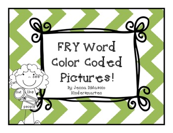 FRY Word Coloring Pages