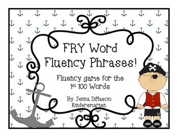 FRY / Sight Words Fluency Game {1st 100 FRY Word Practice}