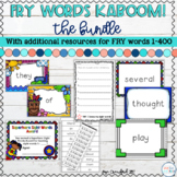 Sight Words Games and Resources: FRY Words KABOOM! Bundle