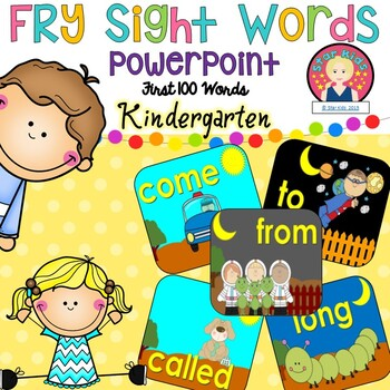 FRY'S FIRST 100 WORDS {Powerpoint on PDF File}
