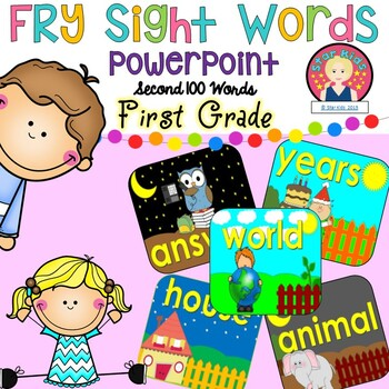 FRY'S Second 100 Words {Powerpoint on PDF FIle}