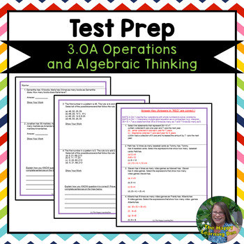 Operations and Algebraic Thinking Test Prep