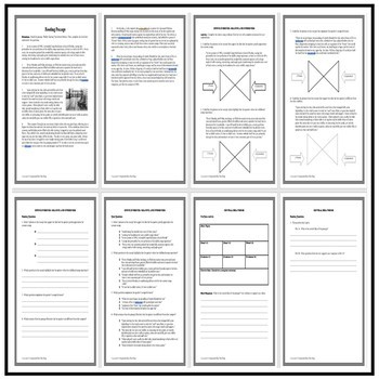 Common Core ELA Reading Test Prep 5 Days of Lessons: Roller Skating Narrative