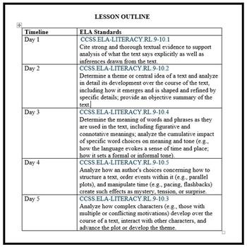 FSA: 5 Reading Test Prep Lessons (Pack 4)