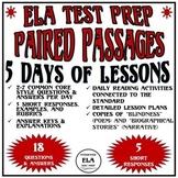 FSA: 5 Reading Test Prep Lessons (Pack 5)