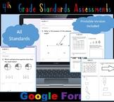 FSA / Common Core 260 TEST PREP QUES 4th Gr Math Bundle: A