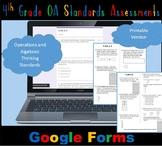 FSA / Common Core 4th Grade Oper & Algebraic Thinking (OA) Test Prep 50 QUES