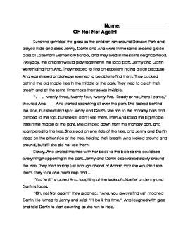 FSA Aligned Assessment - Oh! No!
