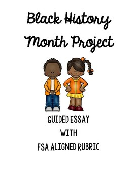 FSA Aligned Black History Month Project