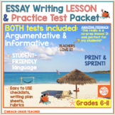 FSA Test Argument Writing NO PREP Practice Packet