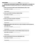 FSA Argumentative or Informative Practice Prompts