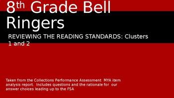 FSA Bell Ringers for 8th grade standards