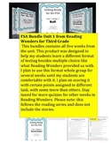 FSA Bundle - Reading Wonders - Third Grade - Unit 1