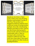 FSA Bundle - Reading Wonders - Unit 2 - Third Grade