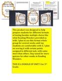 FSA Bundle - Unit 5 - Third Grade - Reading Wonders