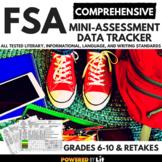 FSA COMPREHENSIVE Mini-Assessment Data Tracker