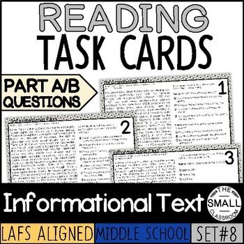 FSA Character Traits Task Cards (Florida Standards Assessment)