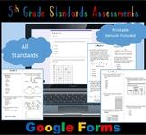 FSA / Common Core 227 TEST PREP QUES 5th Gr Math Bundle: A