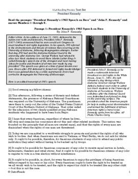 FSA ELA Practice Text Set