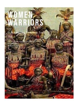 FSA ELA Reading Practice Test Women Warriors