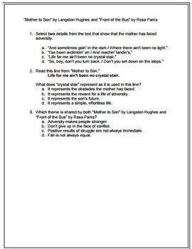 FSA ELA Reading Review Mini-Unit