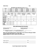 FSA ELA Retakes Score Sheet (9-10th Grade)