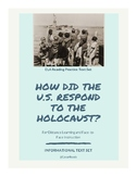 FSA ELA Test Prep The Holocaust and Refugee Text Set