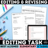 FSA Editing Task   Revising & Editing Practice Test   Grades 3-5   PDF & Google