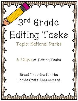 FSA Editing Task Practice #10- 3rd & 4th Grade