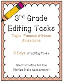 FSA Editing Task Practice #1 - 3rd & 4th Grade