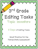 FSA Editing Task Practice #4- 3rd & 4th Grade