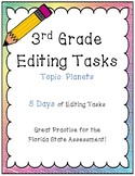 FSA Editing Task Practice #5- 3rd & 4th Grade