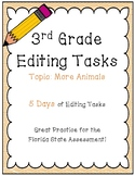 FSA Editing Task Practice #9- 3rd & 4th Grade