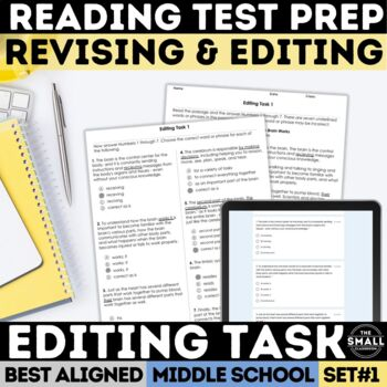 FSA Editing Task Set 1 (Florida Standards Assessment)