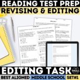 FSA Editing Task   Revising & Editing   Test Prep   Print & Google Forms