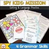 FSA Editing and Language Practice - Spy Kids: Grammar Mission