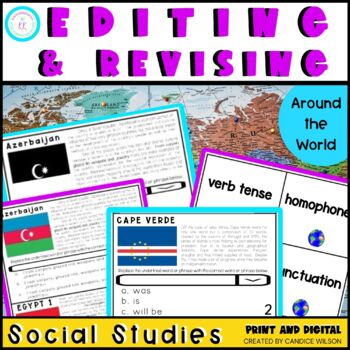 FSA/PARCC Editing and Revising Task Cards
