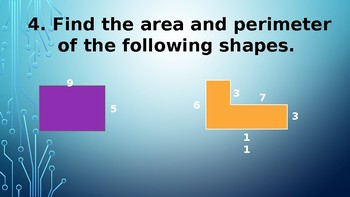 FSA & End of Year Area, Perimeter, Shape Review