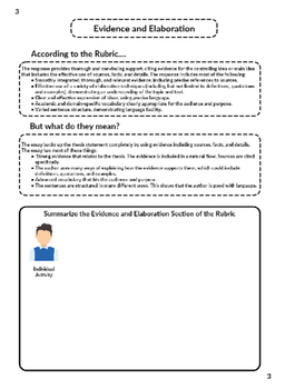 FSA Expository Essay Writing Packet