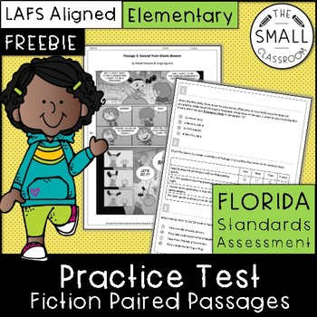 Fsa Reading Practice Tests Grade 3 Worksheets Teaching