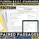 FSA Fiction Practice Test Set 3 (Florida Standards Assessment)