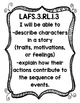 ELA LAFS Common Board I will be able to statements Grade 3